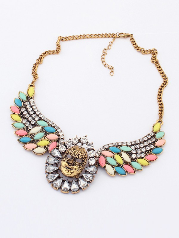 Occident Stylish Exotic Punk Mask Hot Sale Necklace
