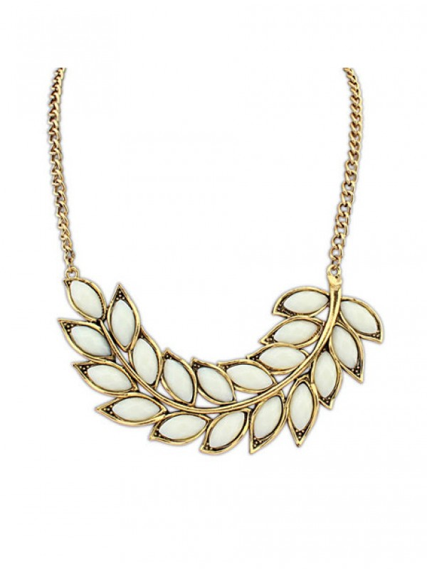 Occident New Bohemia Tree leaf Hot Sale Necklace