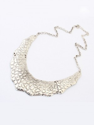 Occident Trendy Retro Metallic Street Shooting Hot Sale Necklace