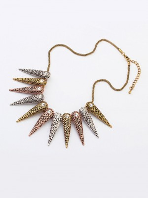 Occident Hyperbolic Exotic Punk Conical Hot Sale Necklace