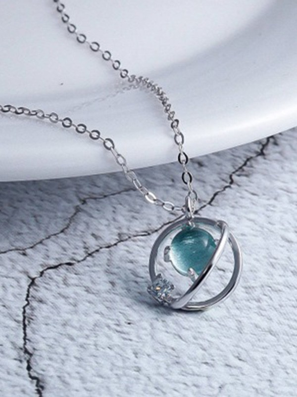 Korean Sterling Silver Necklaces