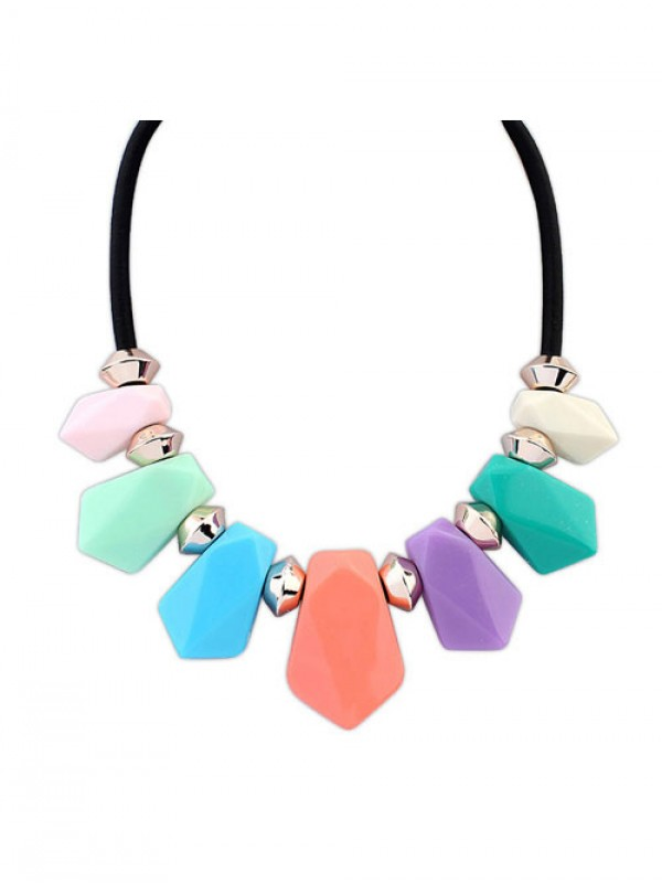 Occident Street shooting all-match Geometry Temperament Hot Sale Necklace
