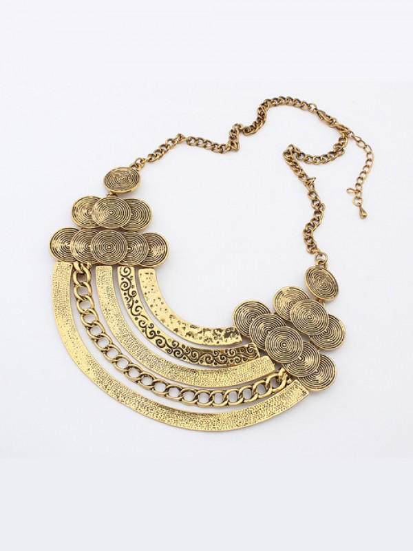 Occident Punk Metallic Hyperbolic Multi-Layered Hot Sale Necklace