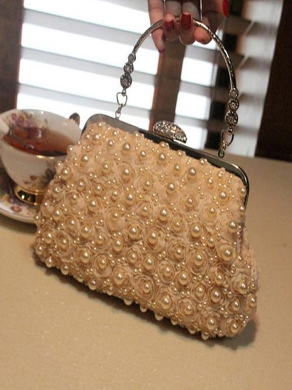 Attractive Pearl Evening/Party Handbags