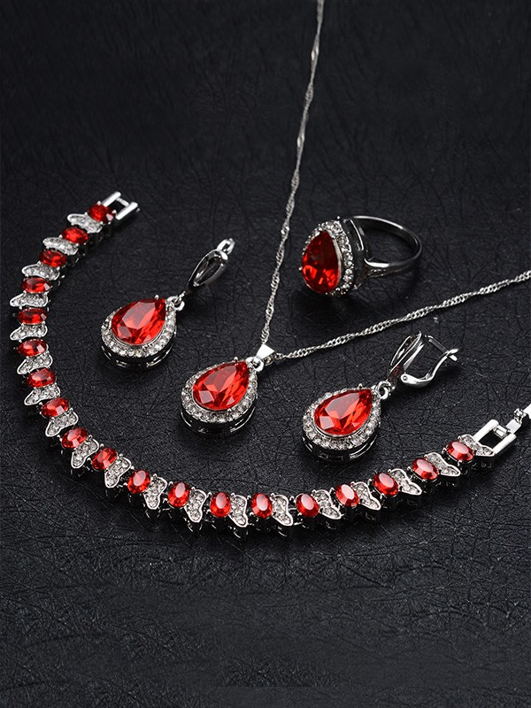 Occident Alloy Hot Sale Jewelry Set