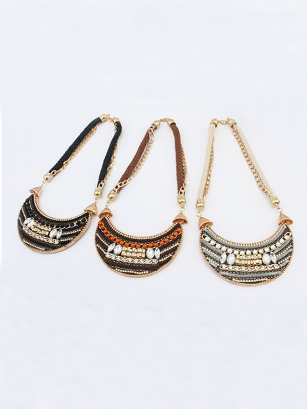 Occident Exotic woven Retro Hot Sale Necklace